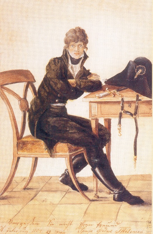 Ф.П.Толстой.-Автопортрет.-1804