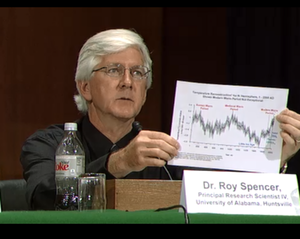 Д-р Рой Сенсер разоблачает очередную фальшивку о рукотворности глобального потепления.