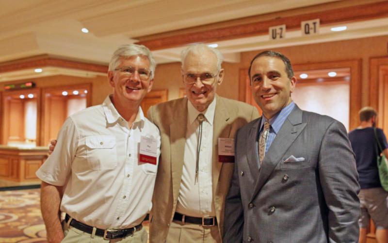 Рой Спенсер, Билл Грей и Марк Морано - столпы противодействия климатическому алармизму в Америке на 9-й Международной конференции по изменению климата (ICCC9), организованная Институтом Хартланда в Лас-Вегасе в 2014 году.