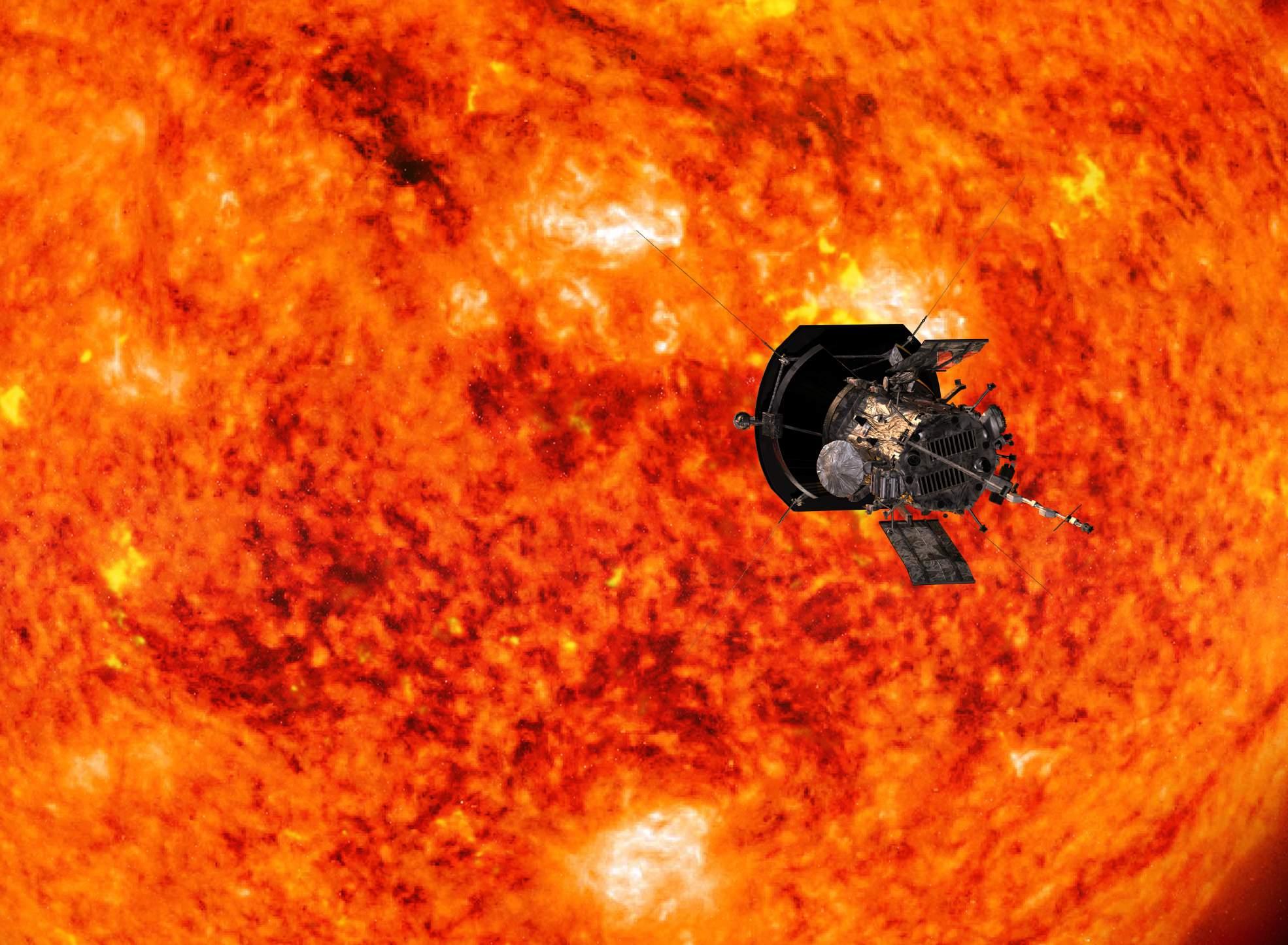 nasa sun mission - HD1618×1080