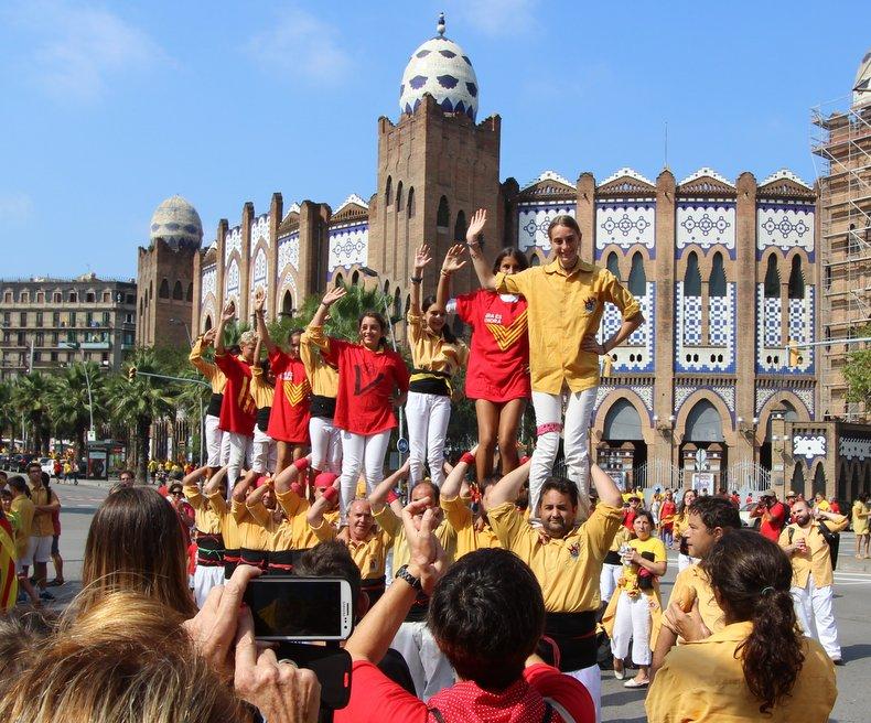 День святого георгия в каталонии барселона