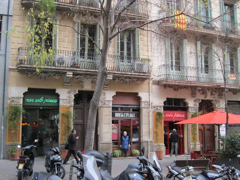 Итальянские рестораны на улице Enric Granados