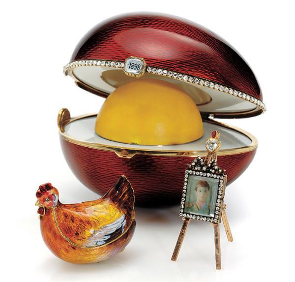 Заказ для Варвары Кельх. Согласитесь, что явно похоже на яйцо для императрицы