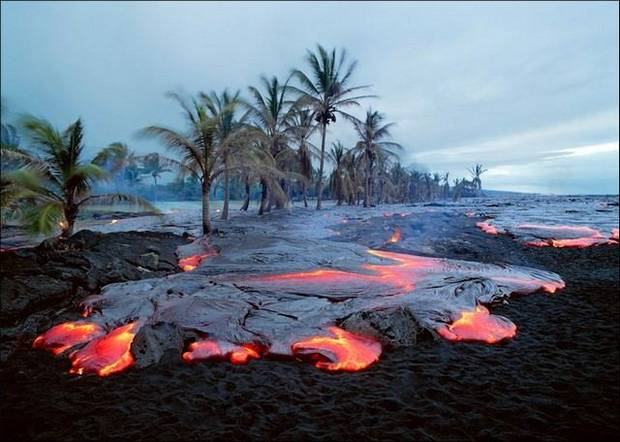 огненное море