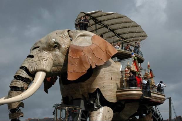 Великий слон Нанта