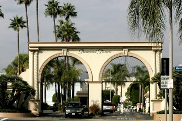 Въезд на студию Paramount