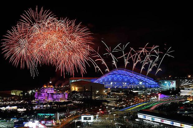 Генеральная репетиция церемонии открытия олимпиады