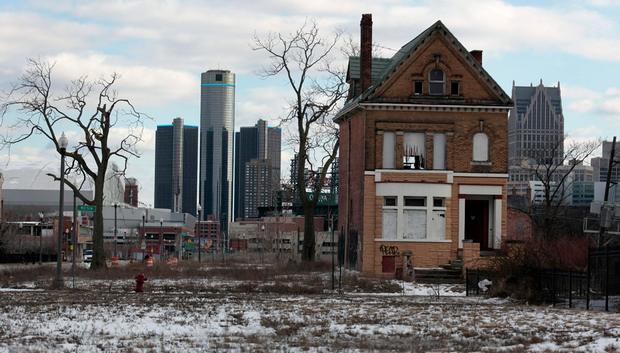 дом в Детройте