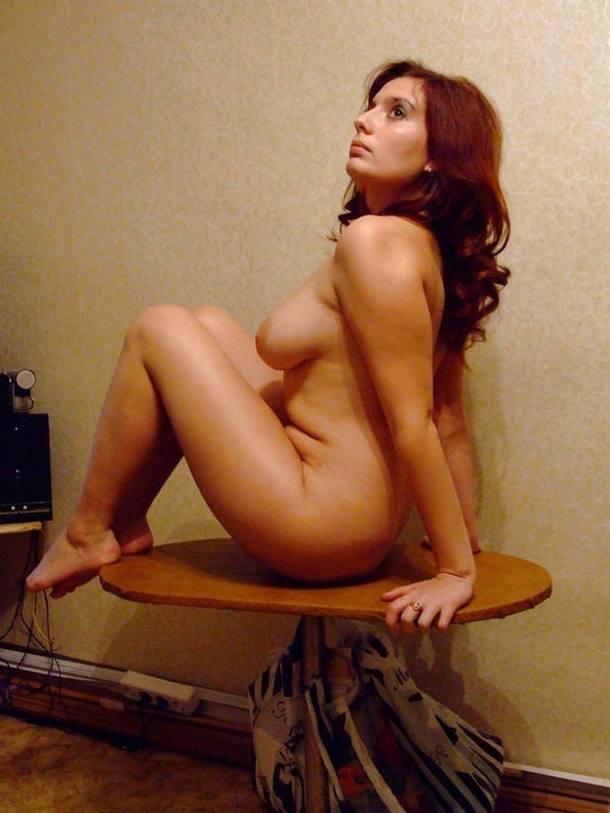 Голая русская дама