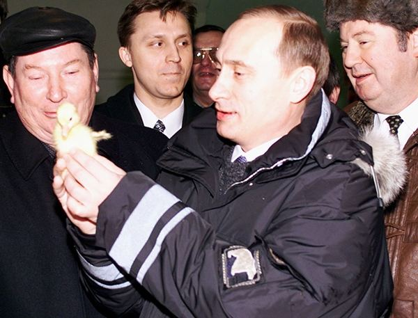 Путин и утенок