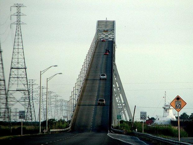 мост в Техасе