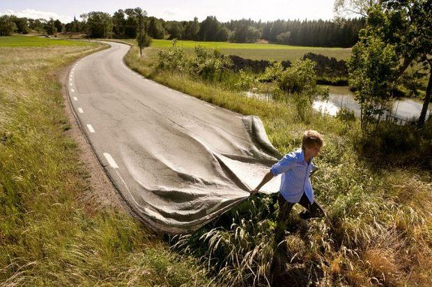 Прокладка дороги