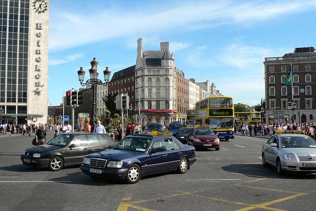 Dublin-taxi