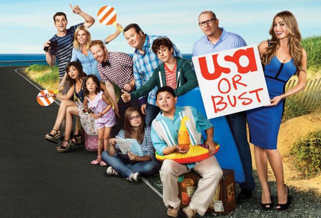 9. «Американская семейка» (Modern Family)