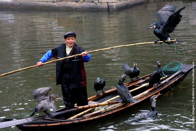 старинные будущий рыбалки