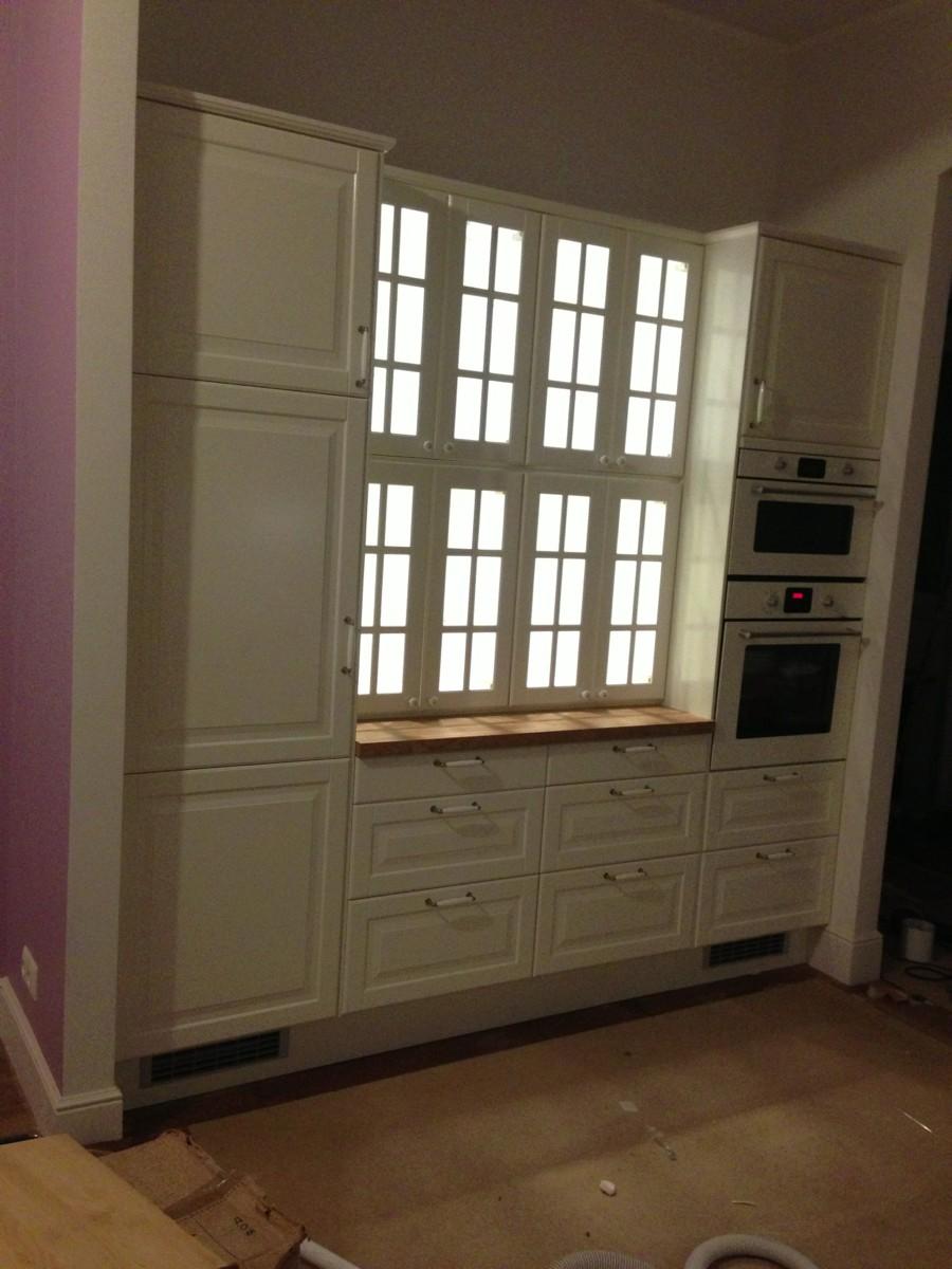 Скрытая на кухне 9 фотография