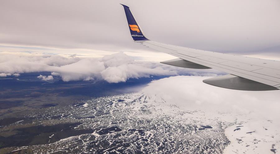 Первый в мире летающий ледник