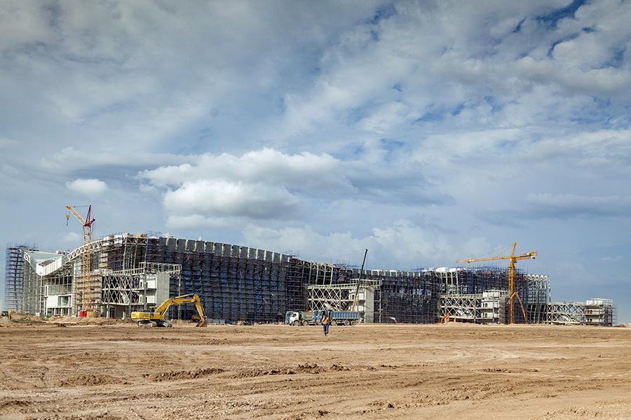 Что там с новым крымским аэропортом?