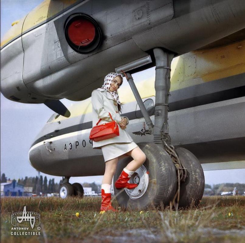 """Как """"Антонов"""" рекламировал свои самолеты во времена СССР"""