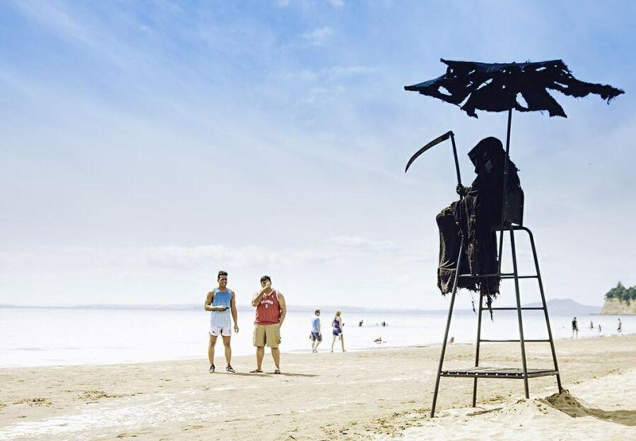 Смерть с косой на пляжах Новой Зеландии