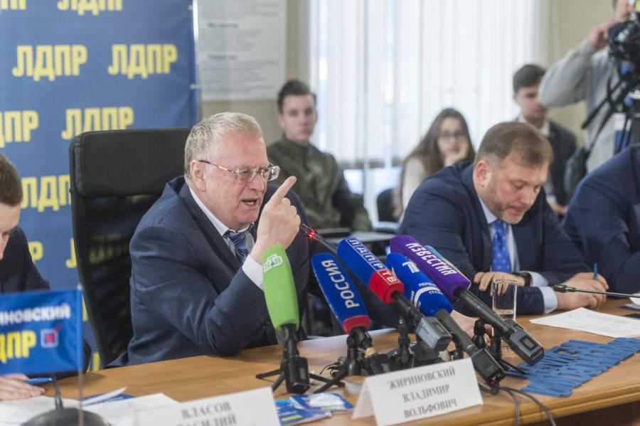 Жириновский сказал, что он самый оптимальный кандидат в президенты
