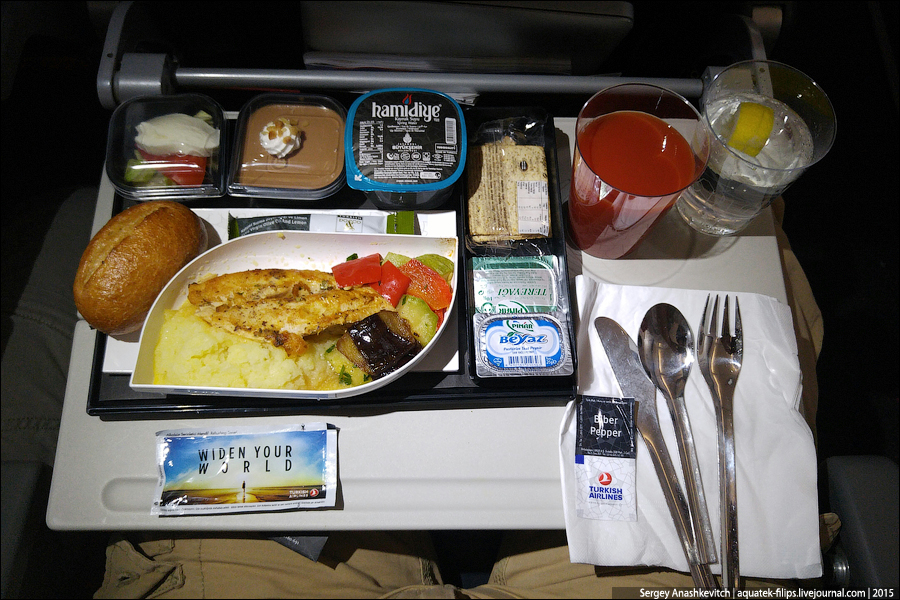Чем кормит S7 в эконом классе Заметки летающего пассажира