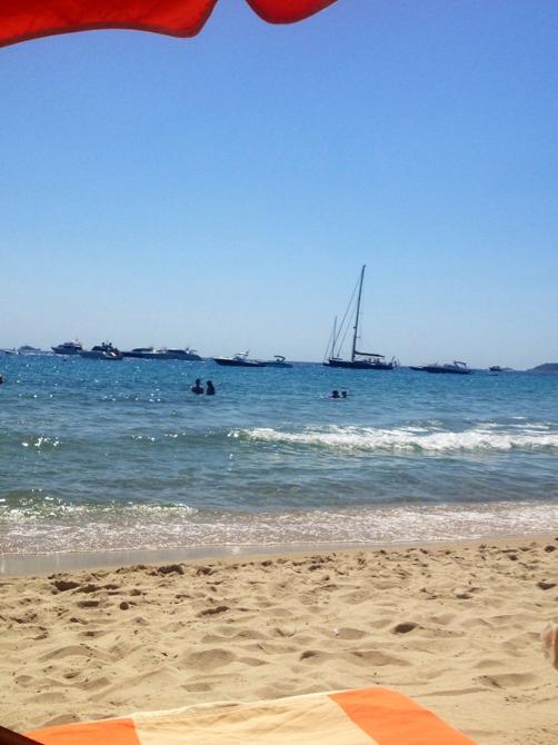 сан тропе. пляж таити