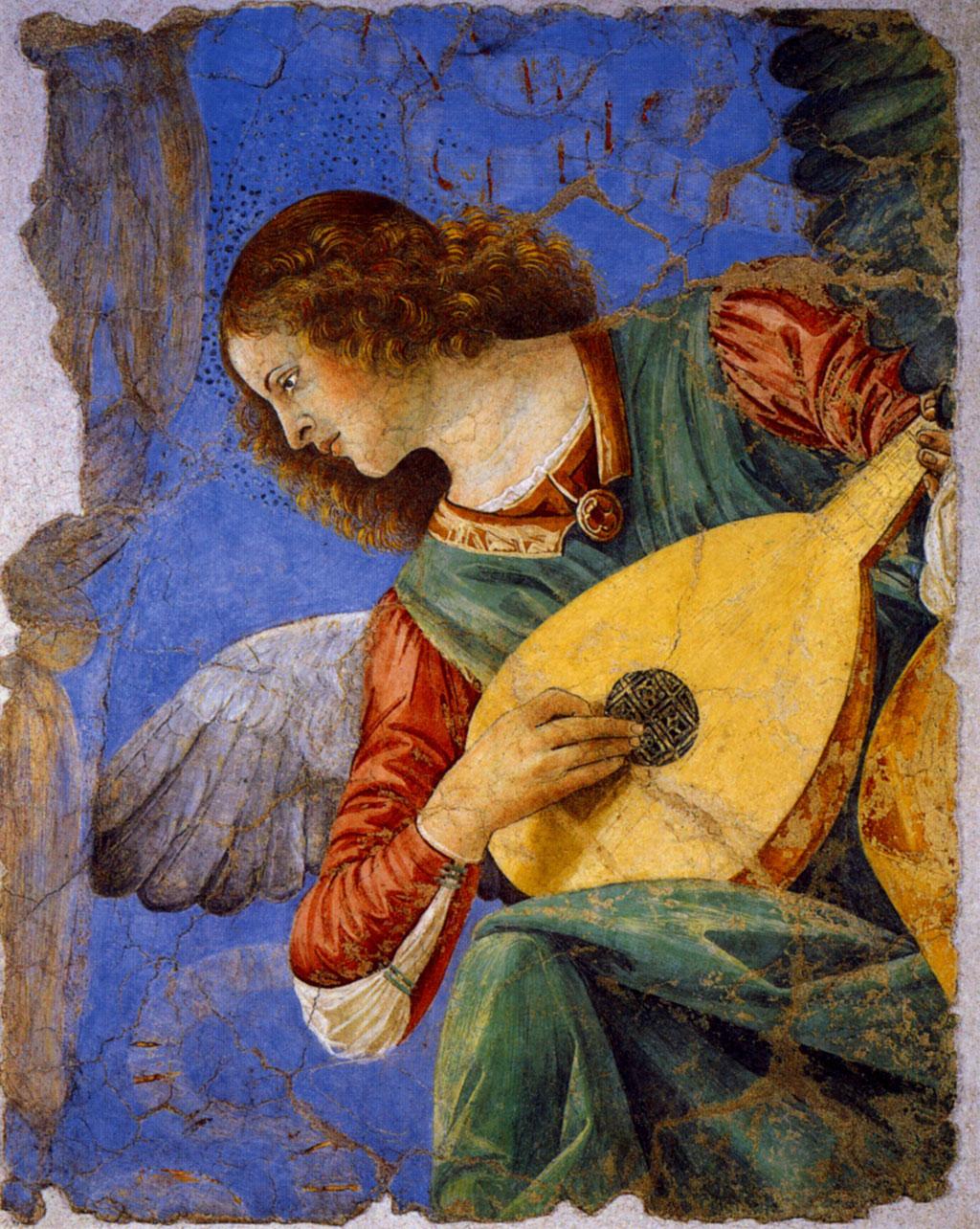 Мелоццо да Форли Ангел с лютней.jpg