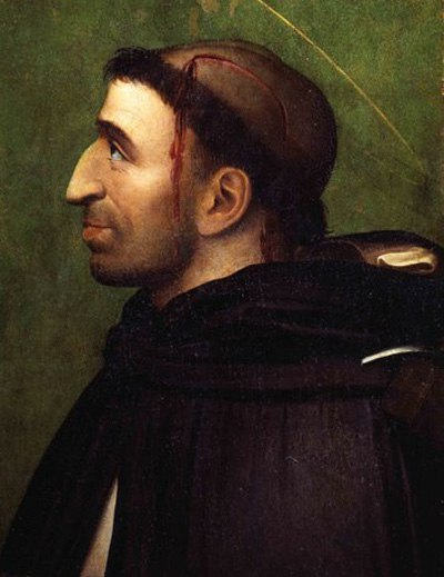 Фра Бартоломео Савонарола в виде Петра Веронского.jpg