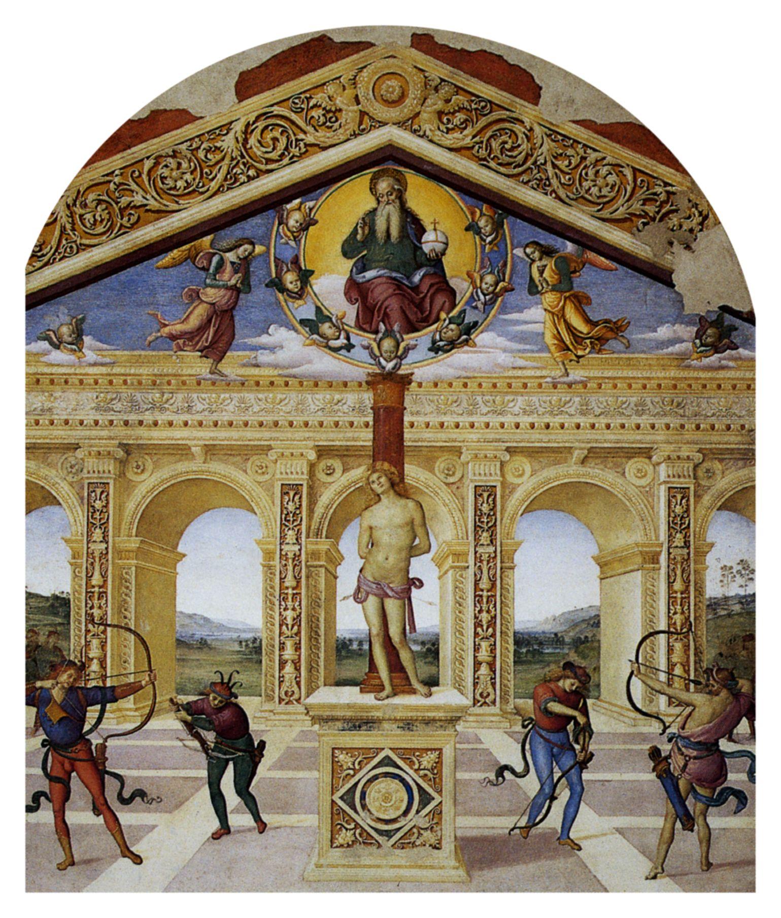 Пьетро Перуджино Святой Себастьян.jpg