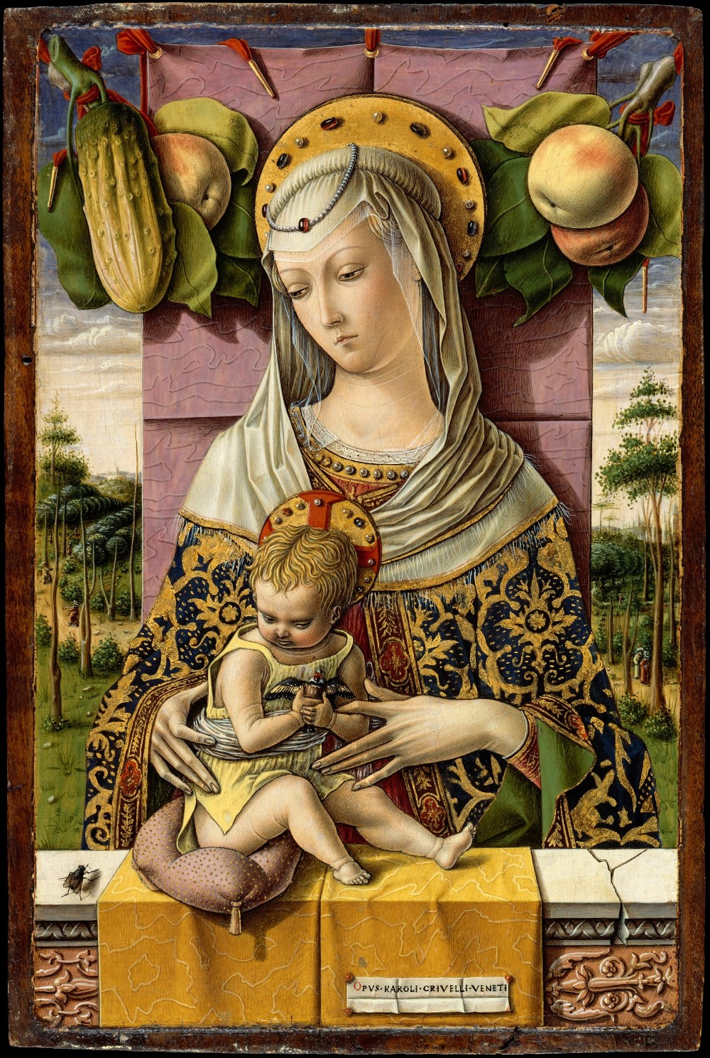 Карло Кривелли Мадонна с младенцем мал.jpg