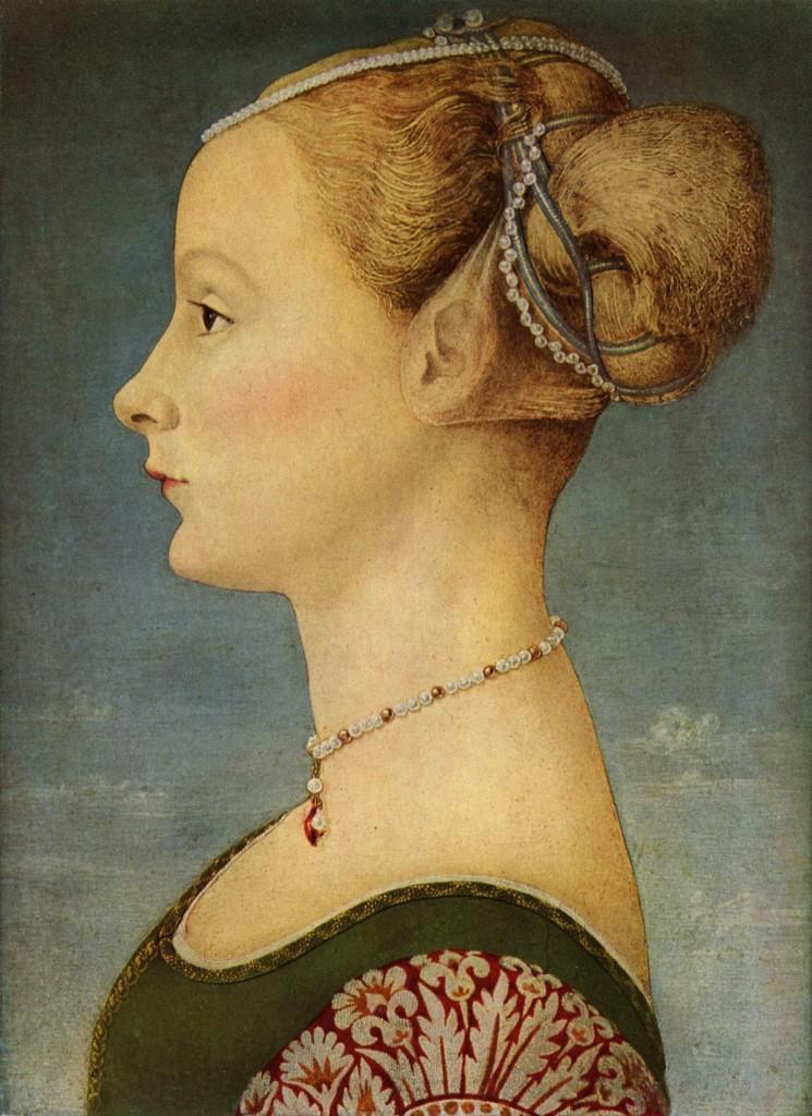 Антонио дель Поллайоло Портрет дамы мал.jpeg