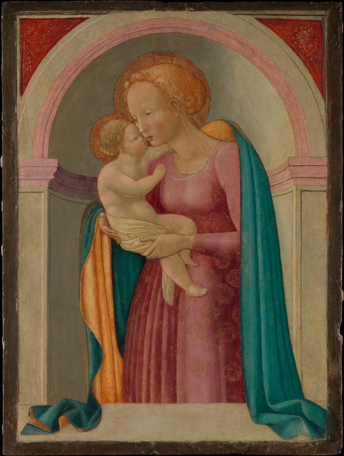 Франческо Пезаллино Мадонна с младенцем мал.jpg