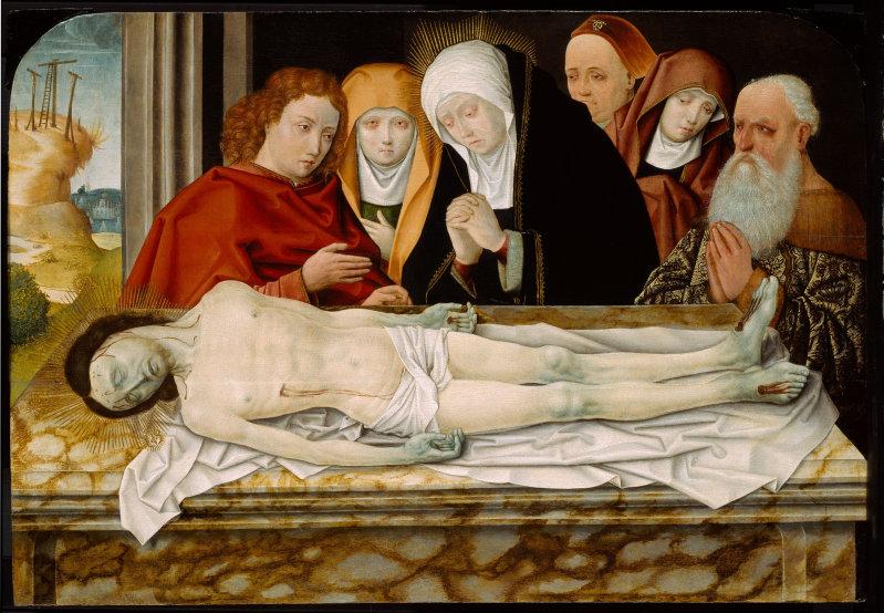 Автор неизвестен Германия Оплакивание Христа чикаго.jpg