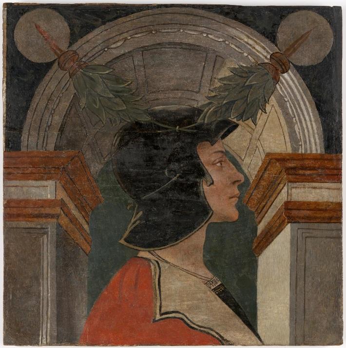 Автор неизвестен Мантуя Портрет молодого человека в классическом шлеме альб и викт.jpg