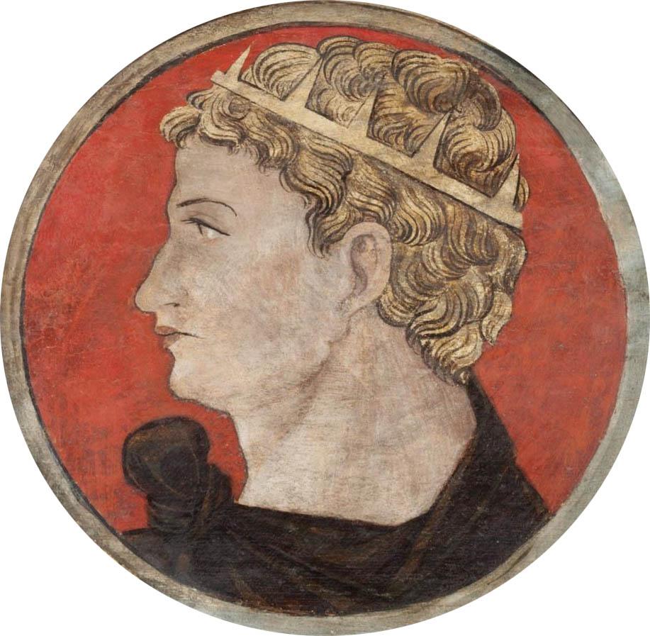 Автор неизвестен Ломбардия  Античный портрет мужчины 2 викт и альб мал.jpg