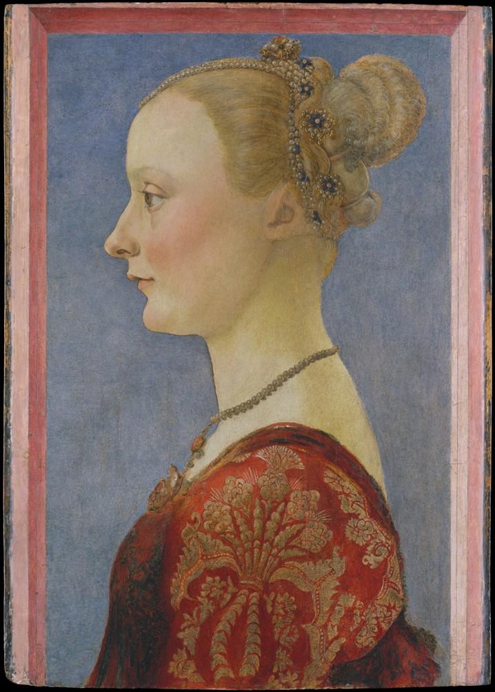 Пьеро дель Полайоло Портрет дамы нью-йорк мал.jpg