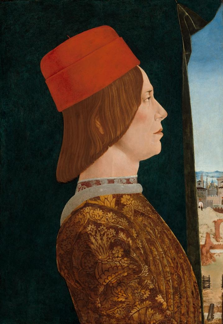 Эрколе де Роберти Портрет Джованни II Бентивольо вашингтон мал.jpg