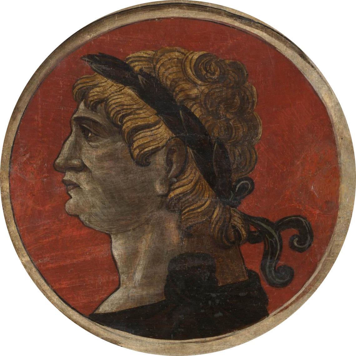 Автор неизвестен Ломбардия  Античный портрет мужчины 4 викт и альб мал.jpg