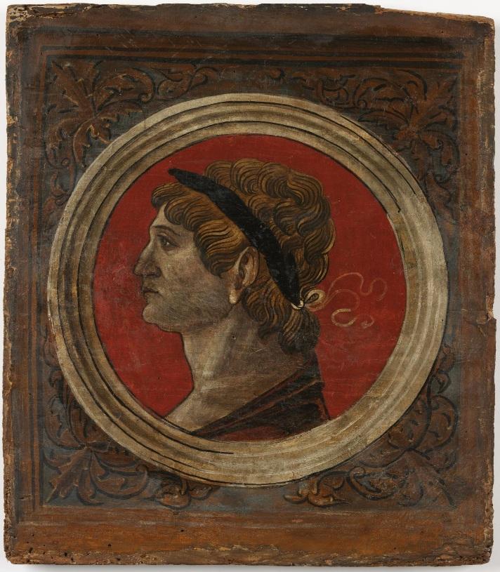 Автор неизвестен Ломбардия  Античный портрет мужчины 6 викт и альб мал.jpg