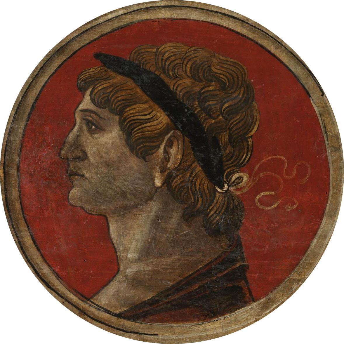 Автор неизвестен Ломбардия  Античный портрет мужчины 6 викт и альб обрез.jpg