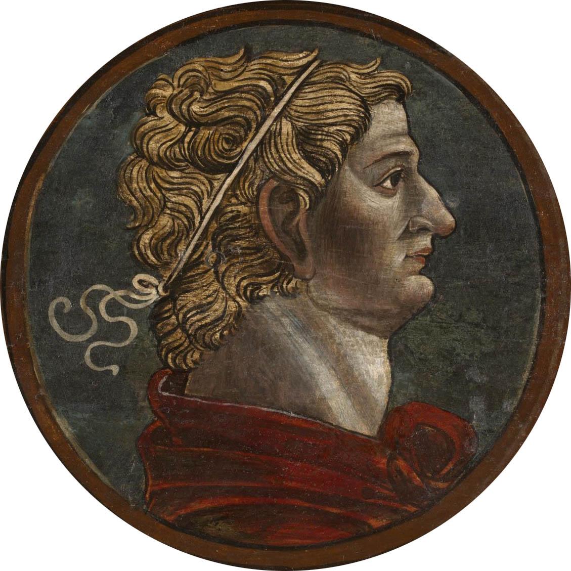 Автор неизвестен Ломбардия  Античный портрет мужчины 7 викт и альб мал.jpg