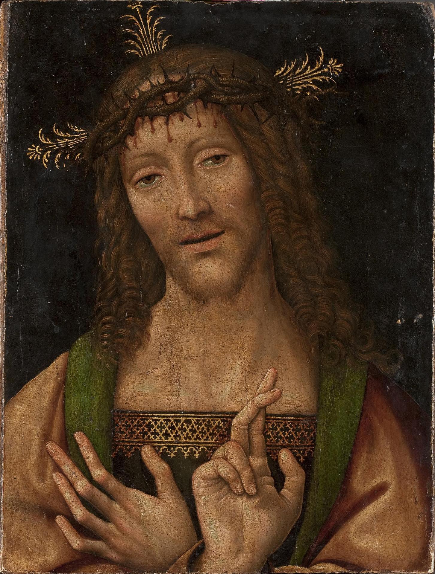 Амброджо Бергоньоне Христос эрмитаж мал.jpg