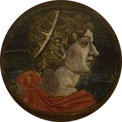 Автор неизвестен Ломбардия  Античный портрет мужчины 8 викт и альб яркий.jpg