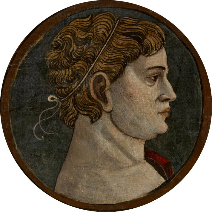 Автор неизвестен Ломбардия  Античный портрет мужчины 9 викт и альб мал.jpg