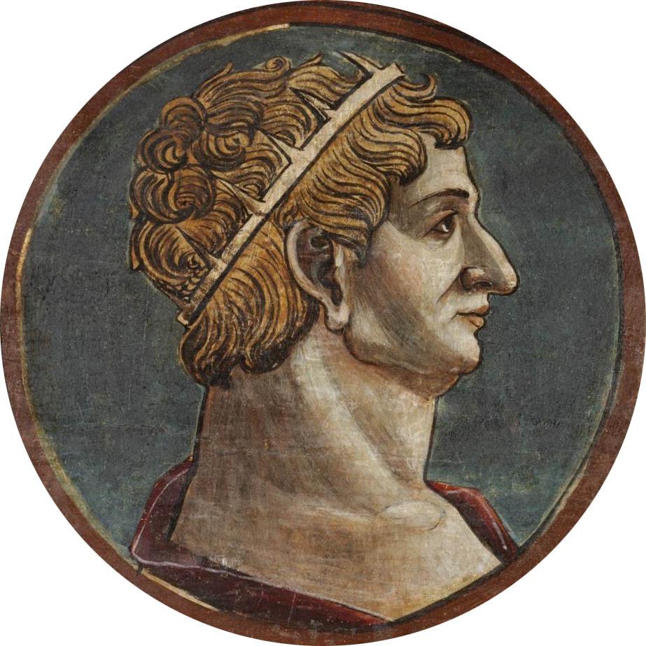 Автор неизвестен Ломбардия  Античный портрет мужчины 10 викт и альб мал.jpg