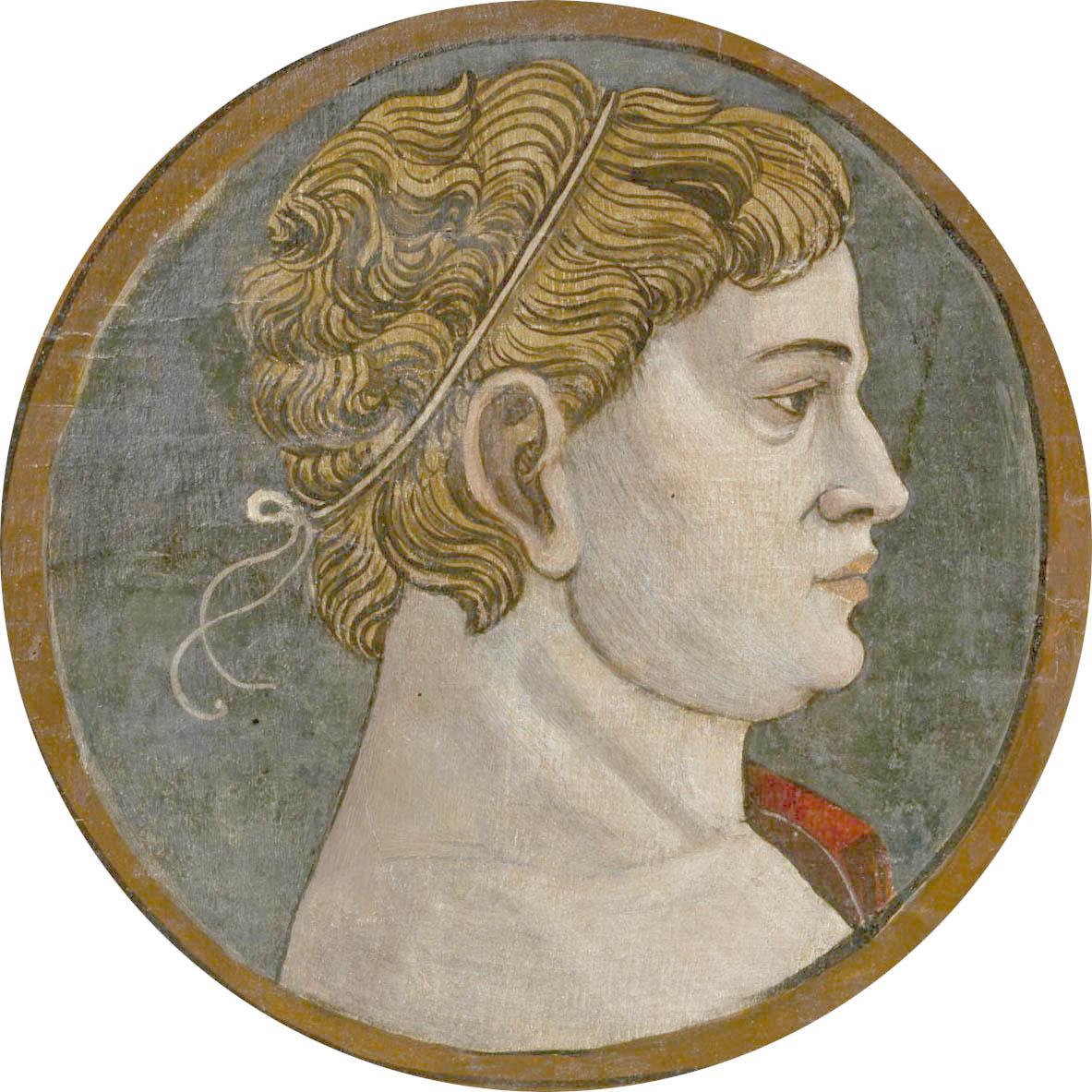 Автор неизвестен Ломбардия  Античный портрет мужчины 9 викт и альб обрез светлый.jpg