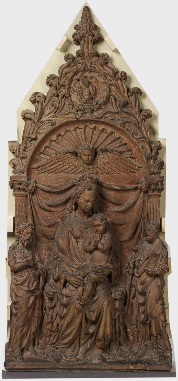 Микеле да Ференце Мадонна с младенцем, Иоанном Крестителем и апостолом Яковом Firenze, Michele da альб и викт мал.jpg