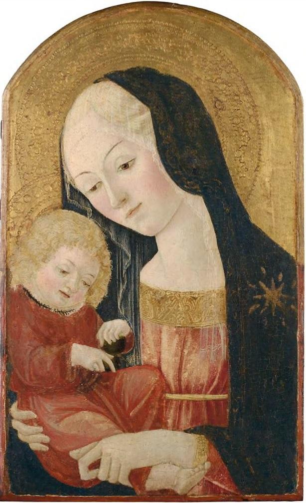 Франческо ди Джорджо Мадонна с младенцем гарвард.jpg