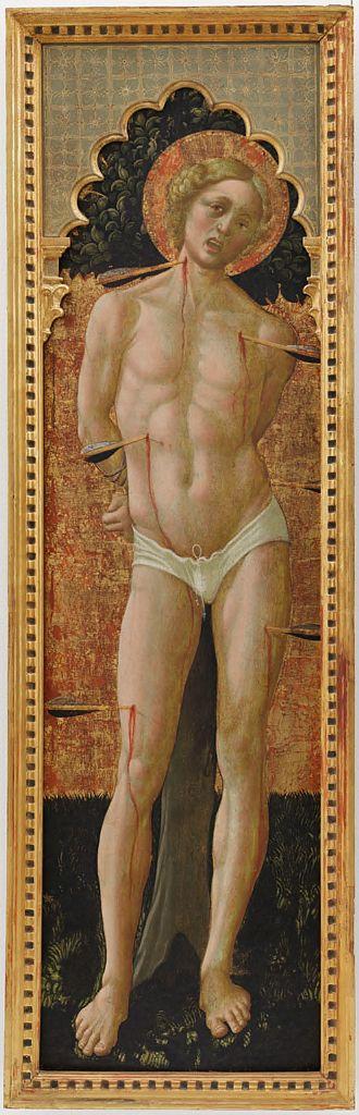 Никколо да Фолиньо 1 Святой Себастьян гарвард.jpg